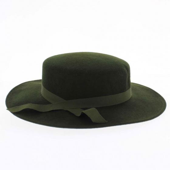Felt women's cap
