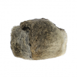 Ushanka Rabbit Brown- Traclet