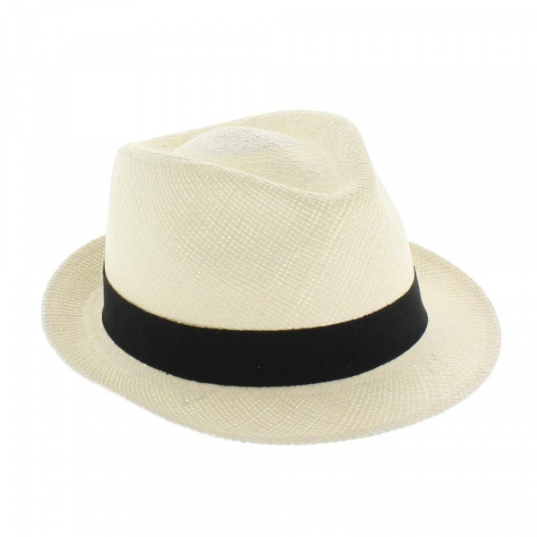 chapeau Trilby panama