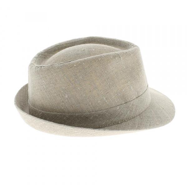 boutique en ligne chapeau trilby lin