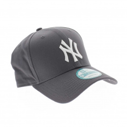 Casquette Trucker NY grise ajustable