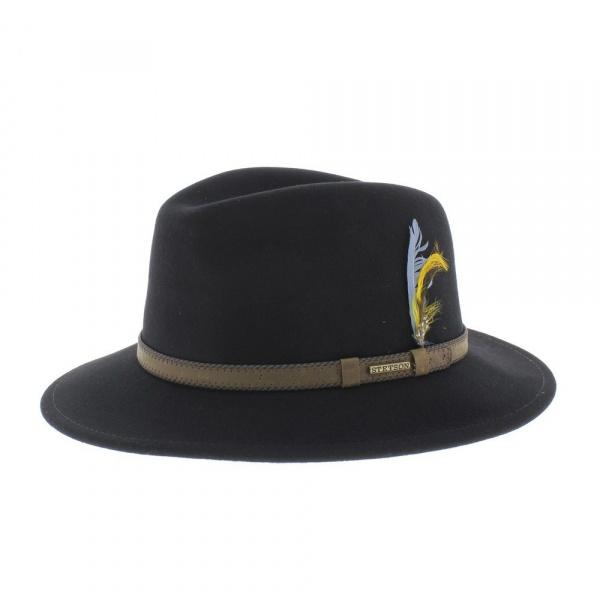 Stetson Rocklin Hat - Black