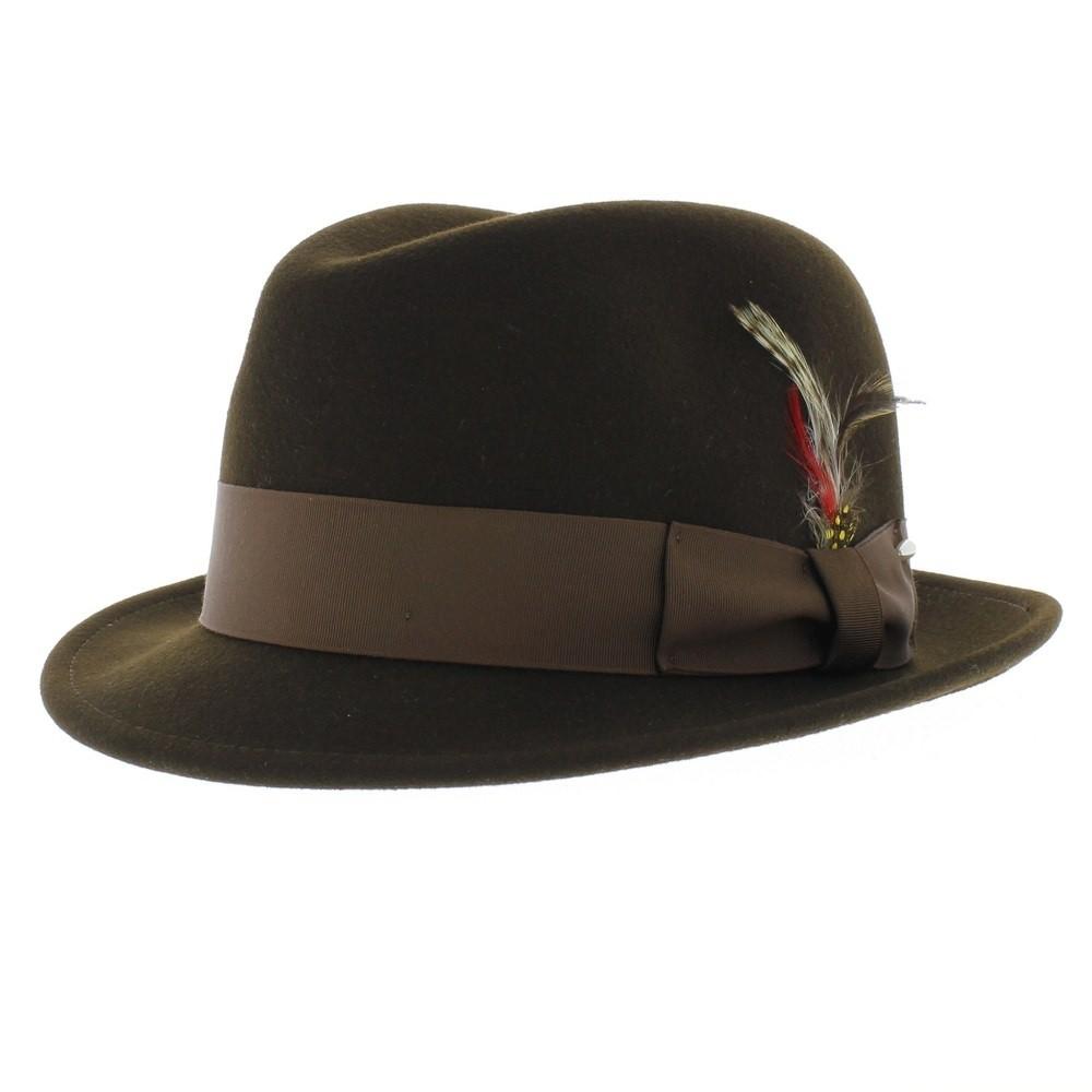 Country Classics en Cuir Véritable Menton Sangle pour Chapeaux Avec Pinces métalliques