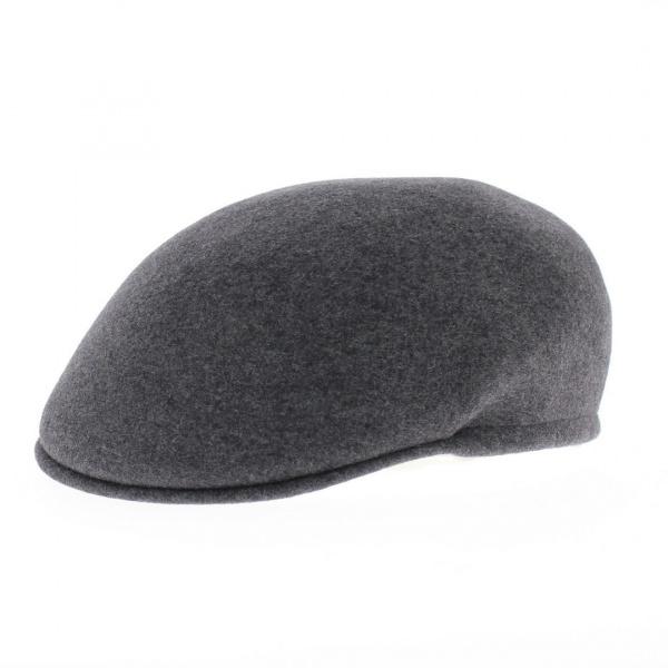 bombée cap wool gray