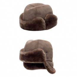 Genuine Fur Men's Toque