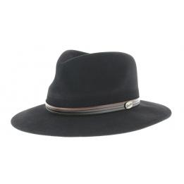 Chapeau Borsalino Indiana noir