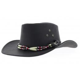 Chapeau en cuir Indiana