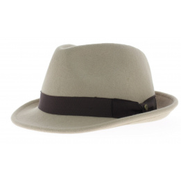 Chapeau Elkader beige claire