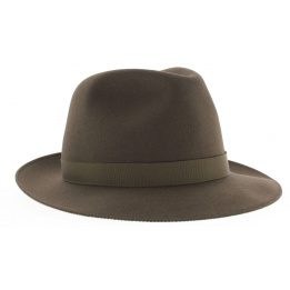 Chapeau feutre poil pliable - Le chazelles