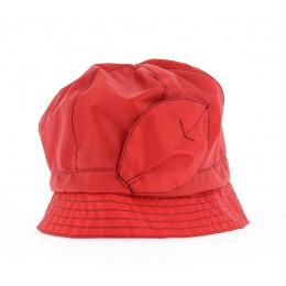 Chapeau cloche ANDORRE SIMPLE Rouge