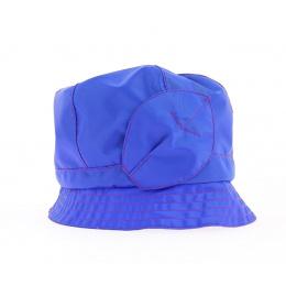 Chapeau cloche ANDORRE SIMPLE bleu