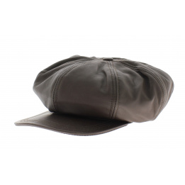 montagny Leather cap
