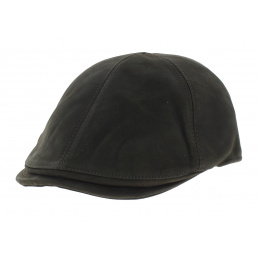 Leather cap Ashford