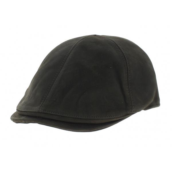 Leather cap Ashford