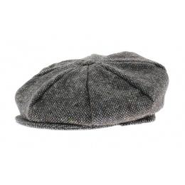 Casquette irlandaise Ennis gris chiné - Hanna hats