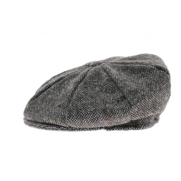 Casquette irlandaise gris chiné