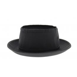 Chapeau Pork Pie Payette stetson noir