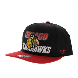 Blowdown Chicago Blackhawks Noir et rouge