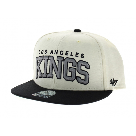 Blockshed LA Kings vintage beige noir