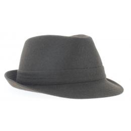 chapeau trilby marron