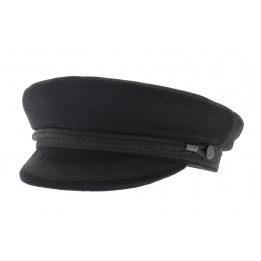 Casquette marin caban noir