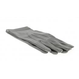 Ceremonial gloves grey