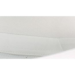 Chapeau trilby coton blanc
