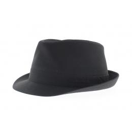 Black Teton Cotton Hat - Stetson