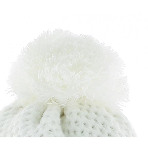 Bonnet Le Drapo Blanc Jacquard