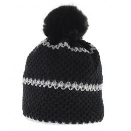 Bonnet Le Drapo Noir-Argent