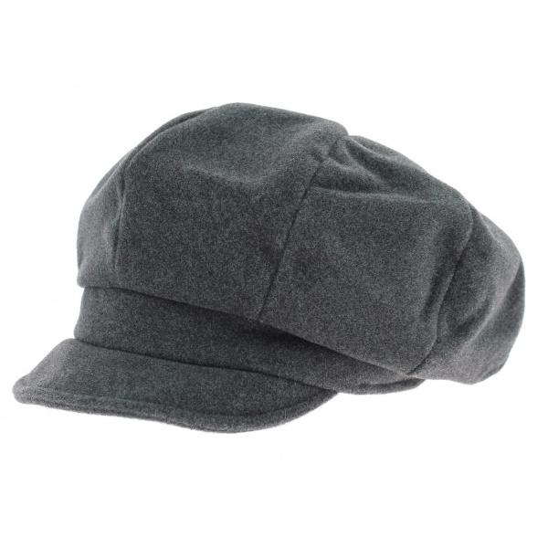 Casquette gavroche laine grise