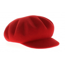 Casquette cubaine Venise rouge - MTM