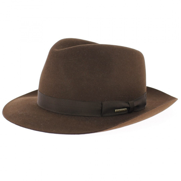 Bogart hat - Brown Penn