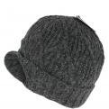 Bonnet The Yukon Brim Coal noir