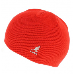 Bonnet Acrylic Cuffless Pull-On rouge - Kangol