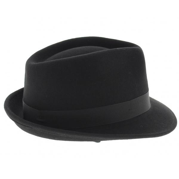 Chapeau Elkader Noir Trilby Stetson