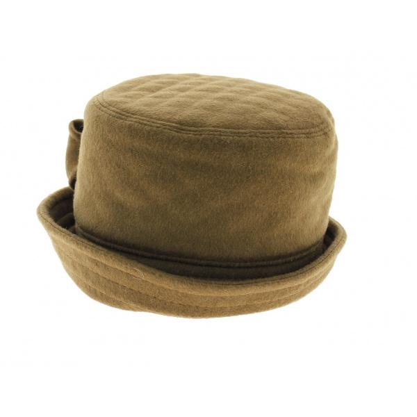 Chapeau clochard camel