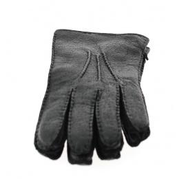 Gants cuir Pécari doublé laine- Roeckl