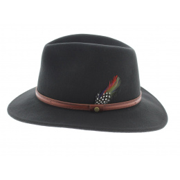 Chapeau traveller Rantoul Noir - Stetson