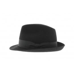 Chapeau Blues Brothers Feutre Laine Noir - Traclet