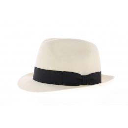 Chapeau trilby blanc enfant