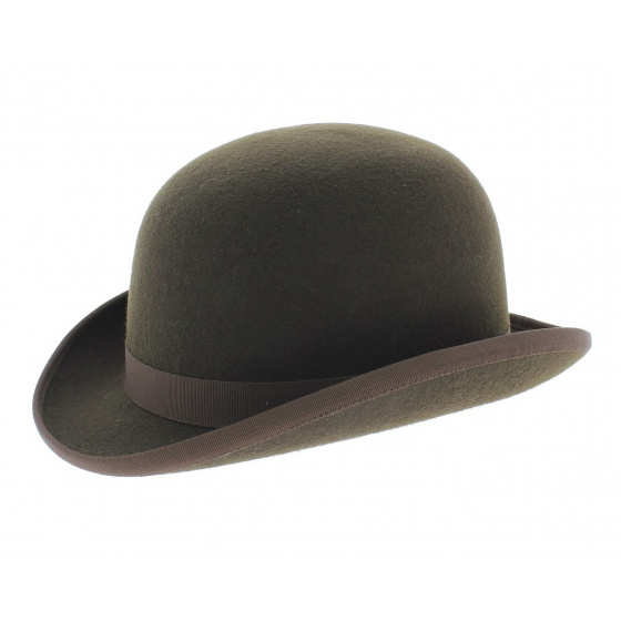 Bowler hat - Brown Wool felt