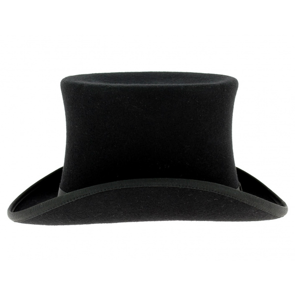 Mad Hatter Black Felt Top Hat Mci 6549 From Dark Knight Armoury. Mini Black  Top Hat. Top Hat Black 3cd28718cf9e