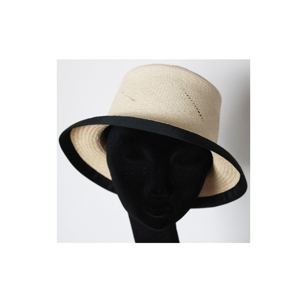 Chapeau Panama Black and White