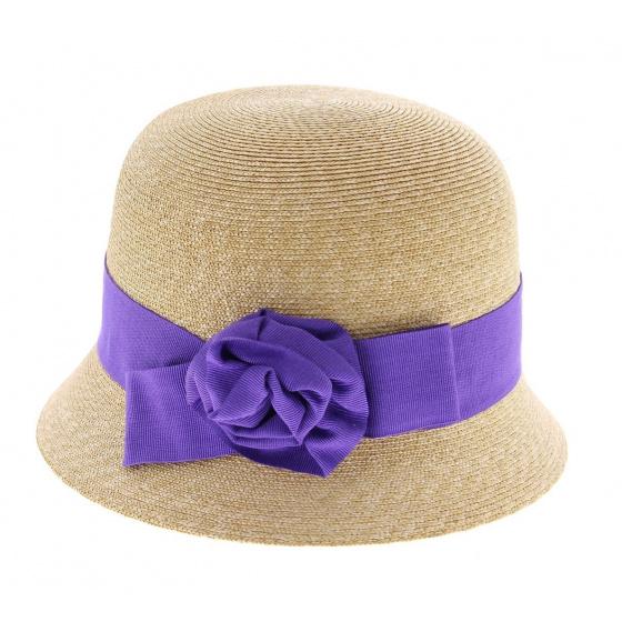 Aline - chapeau cloche haute couture