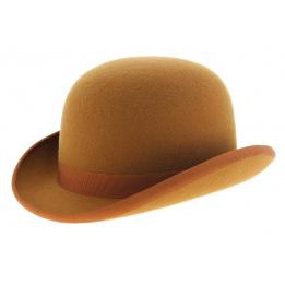 Chapeau melon orangé