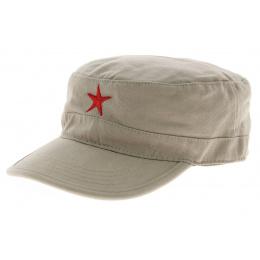 Casquette cubaine Che - beige