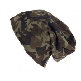 Bonnet Brooklin Oversize Camouflage - Atlantis