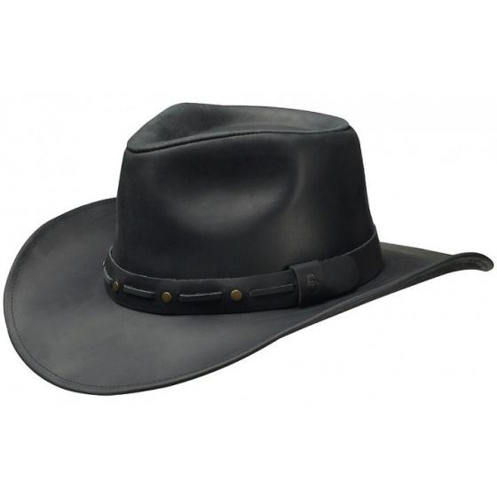 Chapeau cowboy - Cuir Paiute Stetson