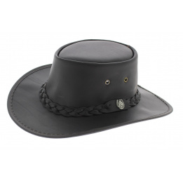 Tasmania leather hat